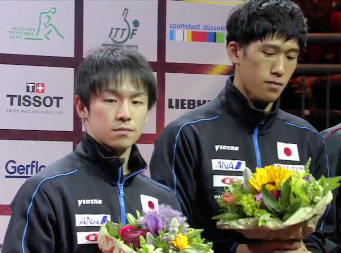 Koki Niwa and Maharu Yoshimura, Mens Doubles Bronze Medallists 2017