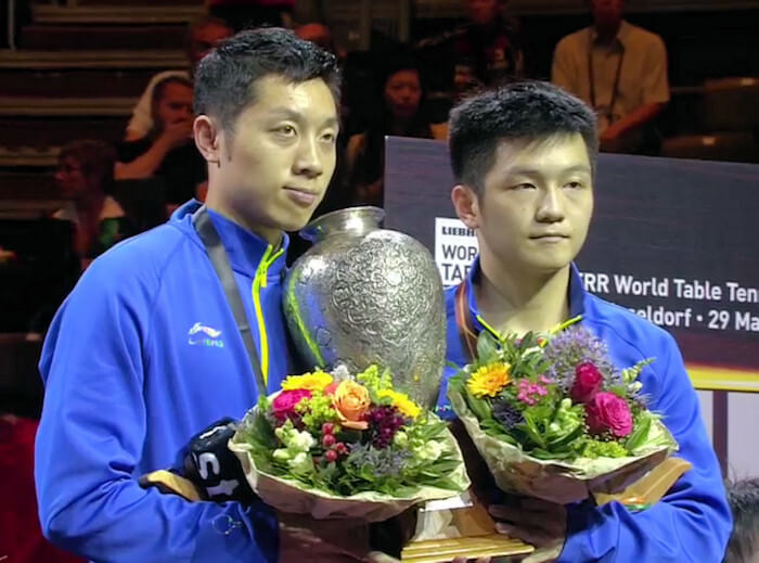 Xu Xin and Fan Zhendong - Mens Doubles World Champions 2017