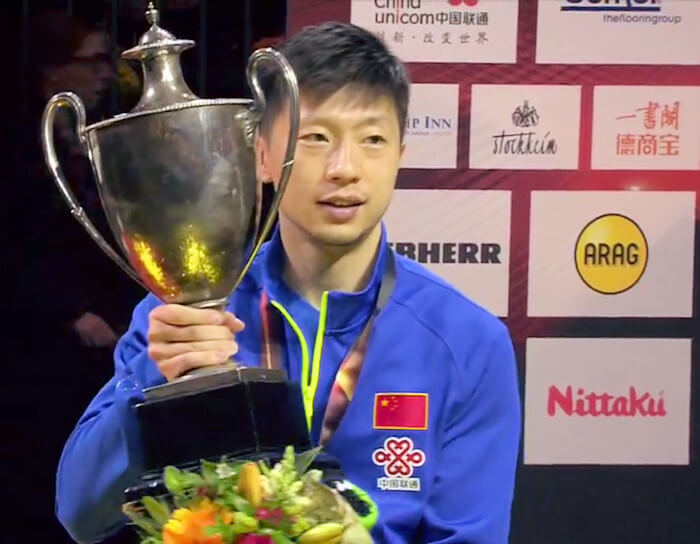 Ma Long - Men's Singles World Champion 2017