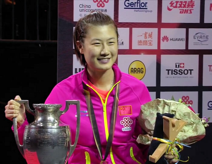 Ding Ning - Women's Singles World Champion 2017