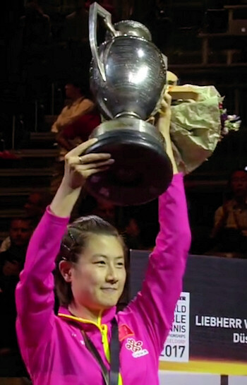 2017 World Champion - Ding Ning