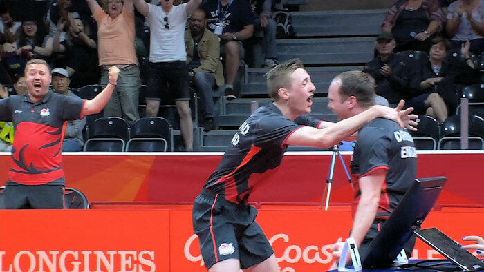 2018 Commonwealth Games Men's Doubles Gold Medallists