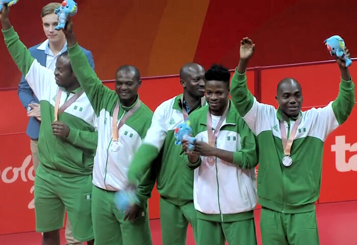 2018 Commonwealth Games Silver Medallists - Nigeria
