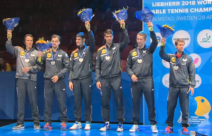 2018 World Team Championships - Germany - Silver Medallists