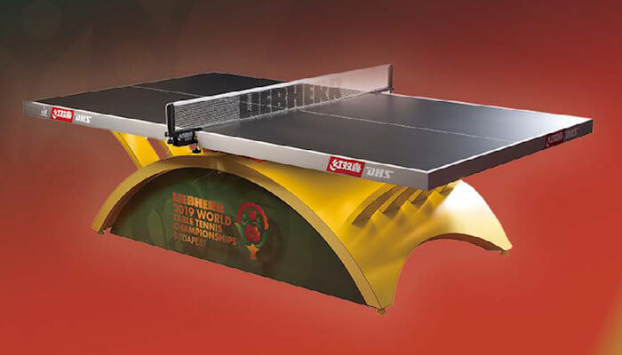 2019 World Championships will be played on Double Happiness tables