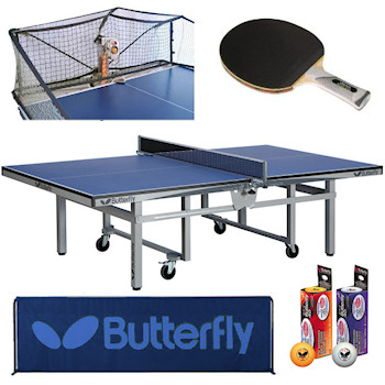 Table tennis room size court and table dimensions - Measurements of table tennis table ...