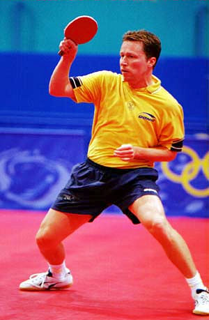 Table tennis stroke - forehand drive