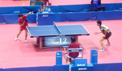 2014 World Team Championships will be played on San Ei tables