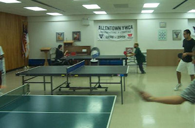 Allentown and Lehigh Valley area Table Tennis Club