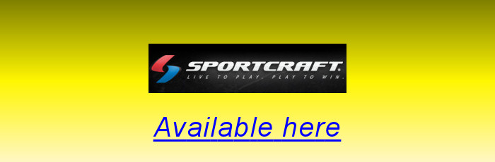 Sportcraft table tennis equipment available here