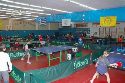 Ping-pong room Voula