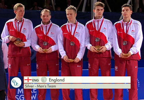 2014 Commonwealth Games Silver Medallists - England