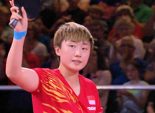 2014 Commonwealth Games Women's Singles Gold Medallist - Feng TIANWEI