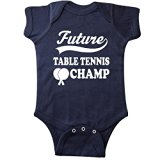 Inktastic Unisex Baby Future Table Tennis Champ Infant Creeper