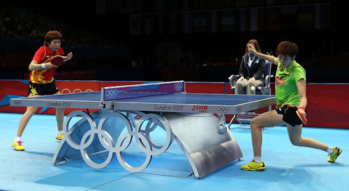 DHS - 2012 Olympic Table Tennis Sponsor