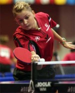 Table tennis women - Daniela Dodean