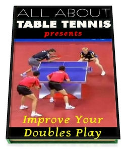 Table Tennis Book - Improve your doubles play