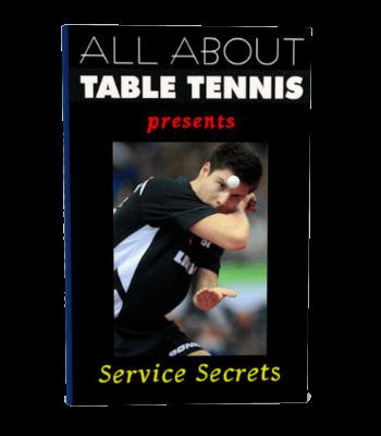 Table tennis E-book - Service Secrets