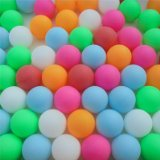 6 color 40mm ping pong balls - pack of 72