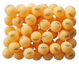 50 Orange 3-star 40mm Training Ping Pong Balls