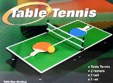 Mini Portable Tabletop Table Tennis (Ping Pong) Game Set
