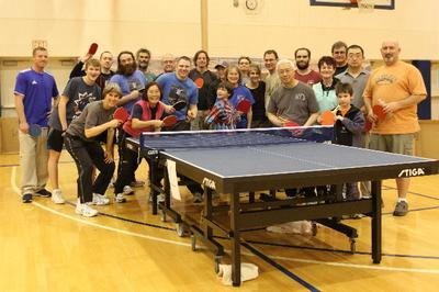 2012 Jerry Smith Alaska Hardbat Players at Fairbanks Interior Table Tennis Club