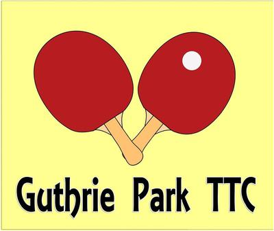 Guthrie Park Table Tennis Club Logo