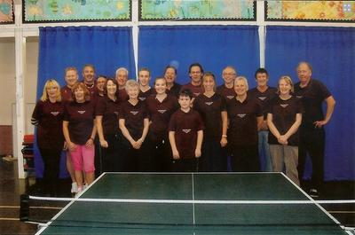 Hockley Table Tennis Club March 2012