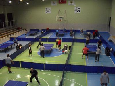 Sports Hall - Izmir Veteran Table Tennis Players Assocation