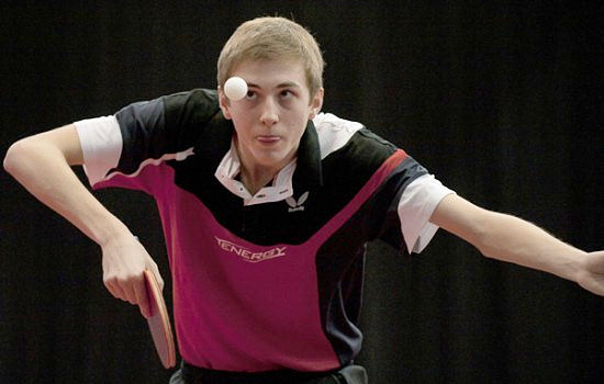 Liam Pitchford Team GB Table Tennis