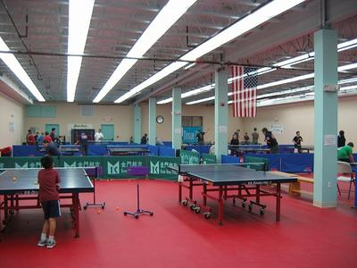 1st Floor - Lily Yip Table Tennis Center