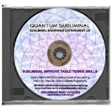BMV Quantum Subliminal CD Improve your Table Tennis Skills: Professional Mind Training Aid (Ultrasonic Sports Performance Enhancement Series)