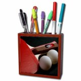 Table Tennis Ping Pong Pencil Holder