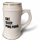 Eat Sleep Ping Pong - 22oz Stein Mug