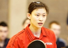 Na Liu Team GB Table Tennis
