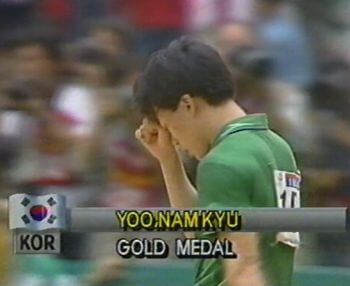 The first Olympic Games Table Tennis Gold Medal Winner in 1988 - Yoo Nam Kyu