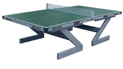 All weather table tennis table