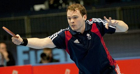 Paul Drinkhall Team GB Table Tennis