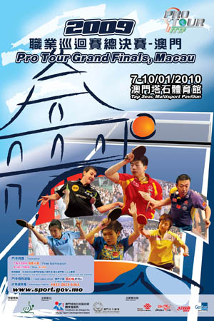 ITTF Pro Tour Grand Finals 2009 poster
