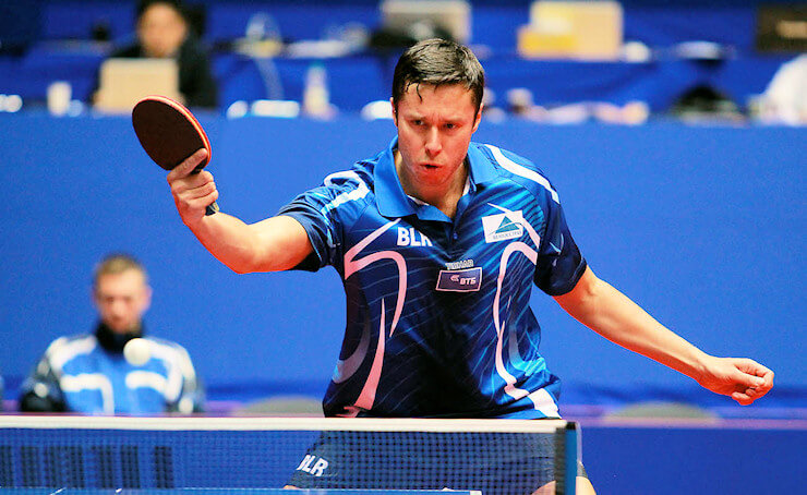 One of the best table tennis players in the world - Vladimir Samsonov