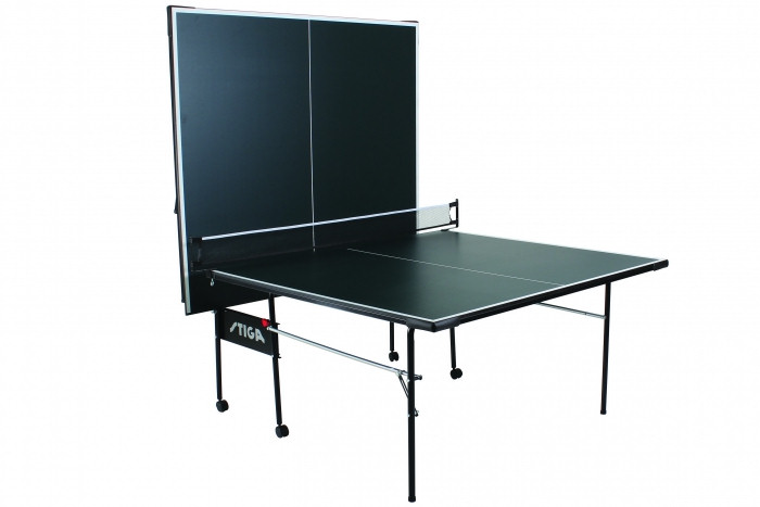 Stiga Advance T8621 table tennis table in the playback position