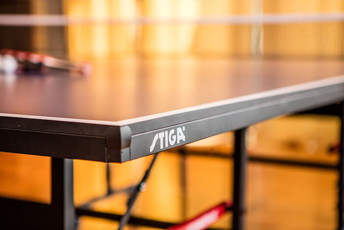 Stiga Advantage T8580w table tennis table corner protector