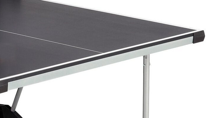 Stiga Daytona T8127 table tennis table edge