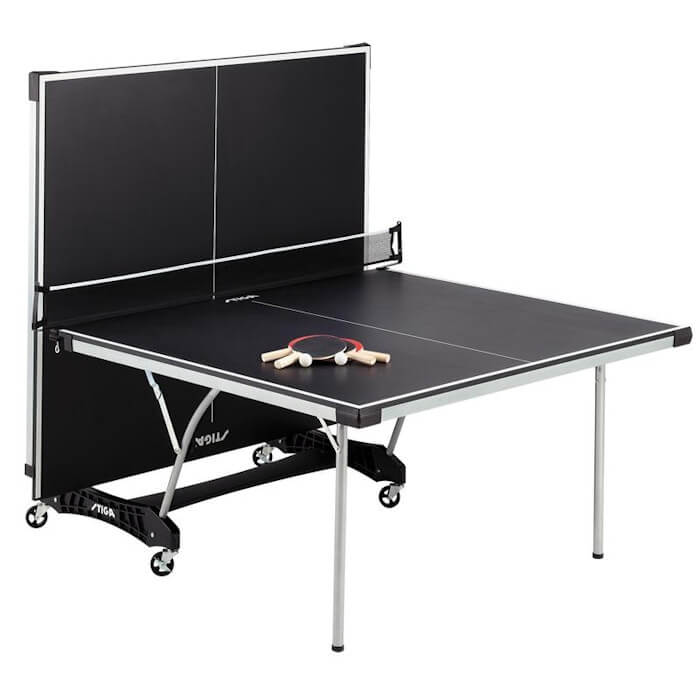 Stiga Daytona T8127 table tennis table in the playback position