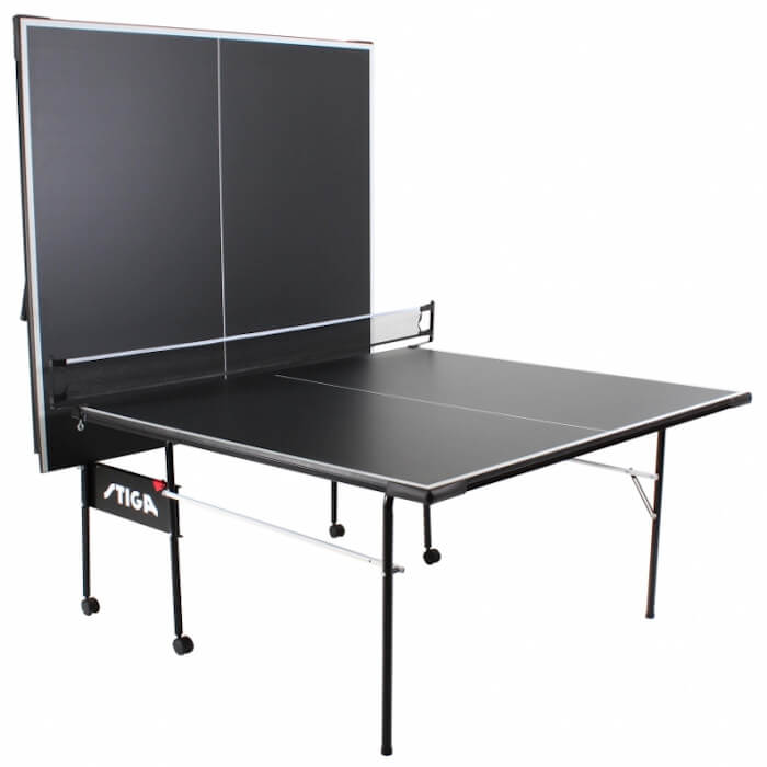 Stiga Impact T8621b table tennis table in the playback position