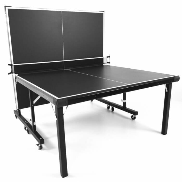 Stiga InstaPlay T8288 table tennis table in the playback position