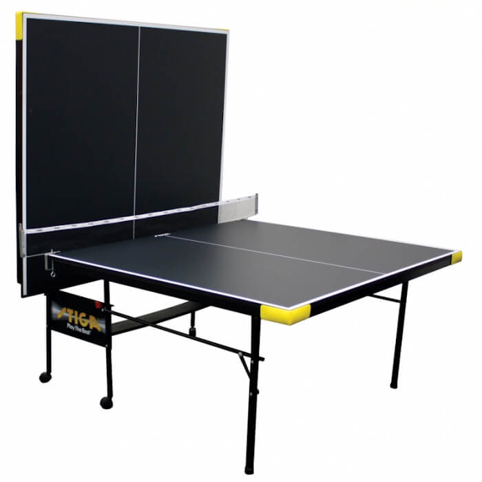 Stiga Legacy T8612 table tennis table in the playback position