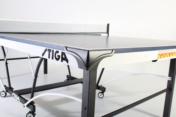 Stiga Tournament Series STS 185 T8521 table tennis table corner