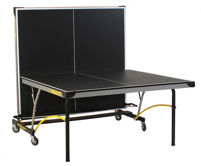 Stiga Synergy T8690 table tennis table in the playback position