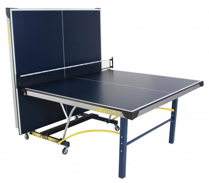 Stiga Triumph T8780q table tennis table in the playback position
